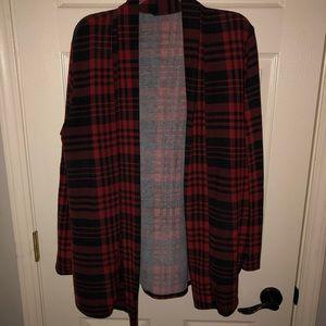 Sweaters - Buffalo plaid cardigan